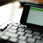 ipod touchとリュウドワイヤレスキーボードがやっぱり快感