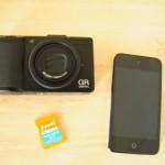 デジカメ写真をipod touch(iphone)に転送→facebookにアップを簡単に