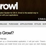 Mac OS X Lionの通知アプリの「Growl」を無料で手に入れる