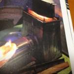ベランダでロケットストーブ+公園の木材で炊事をするという計画