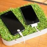 iphone5,ipod touch用の充電スタンドを作ってみた。制作費たったの300円!