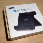 【レビュー】iPad air2に最適!ANKERのマルチアングルスタンドは角度調整が自在で安定感があって良い!