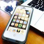 農作業用にBengoo iphone5s SE防水ケースを購入!値段の割りにいい感じ