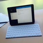 【購入レビュー】iPad Air2用にApple純正のmagic keyboardを購入してテキスト入力が超快適に